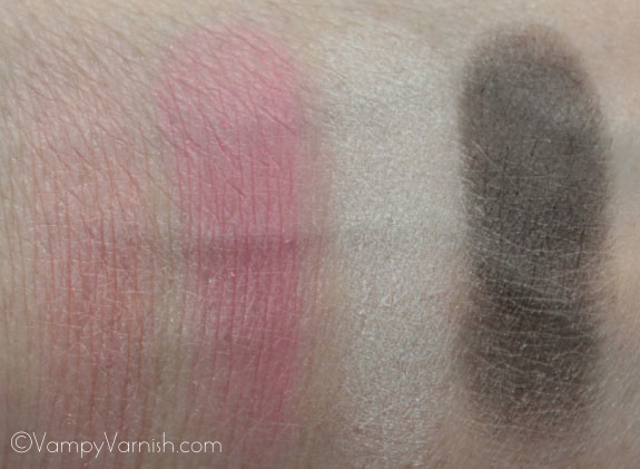 NYX Spring Fling Palette Swatches 3