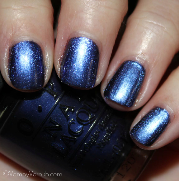 OPI Into The Night OPI Spider Man Collection Swatches & Review