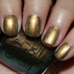OPI Just Spotted The Lizard 150x150 OPI Spider Man Collection Swatches & Review