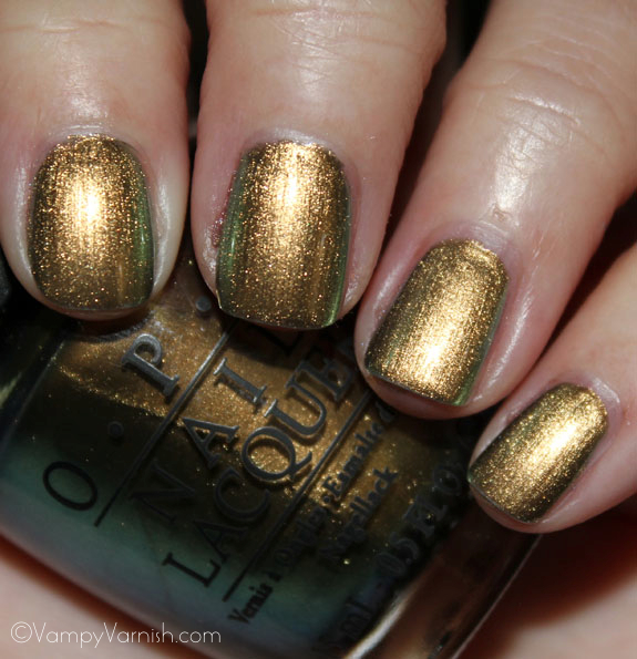 OPI Just Spotted The Lizard OPI Spider Man Collection Swatches & Review