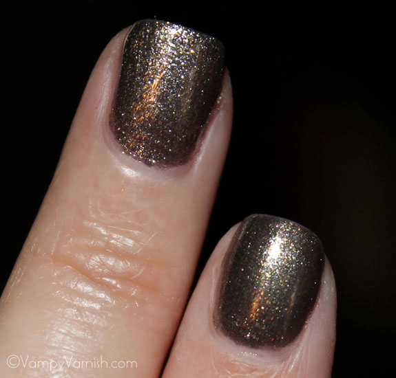 OPI Number One Nemesis and Chanel Graphite 2 OPI Spider Man Collection Swatches & Review