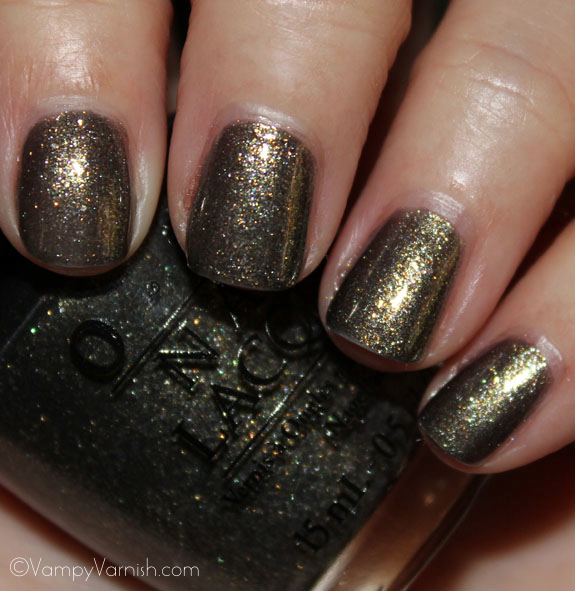 OPI Number One Nemesis OPI Spider Man Collection Swatches & Review
