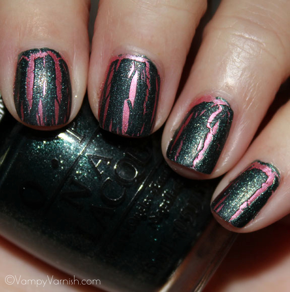 OPI Shatter The Scales OPI Spider Man Collection Swatches & Review