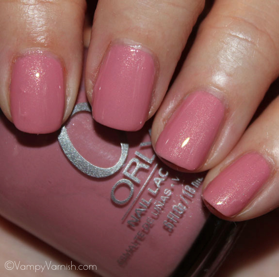 Orly Artificial Sweetener Orly Cool Romance for Spring 2012 Swatches & Review
