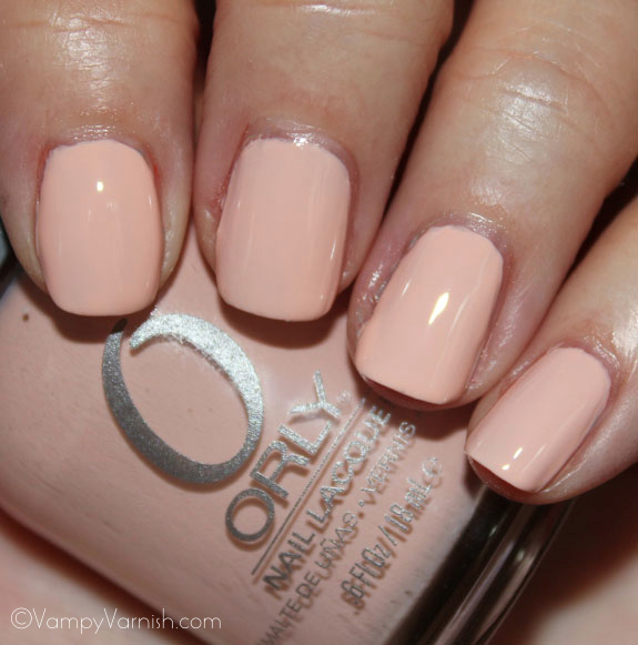 Orly Prelude To A Kiss Orly Cool Romance for Spring 2012 Swatches & Review
