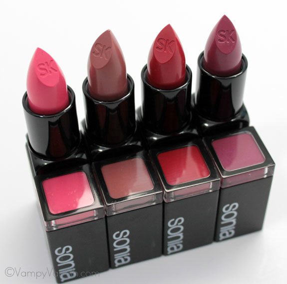 Sonia Kashuk Satin Luxe Lip Color 3