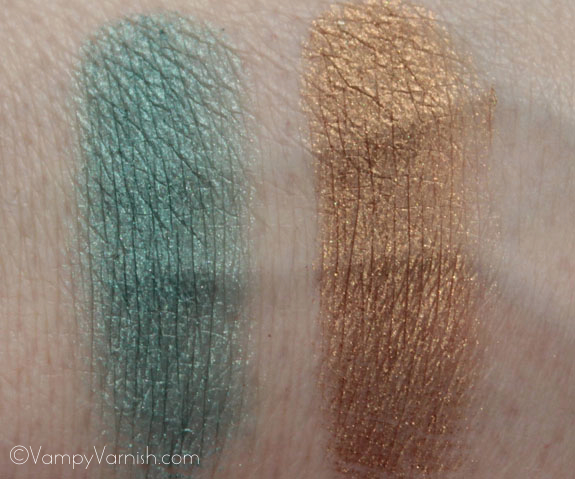 E l f Pigment Eyeshadow Swatches