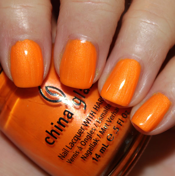 China Glaze Orange You Hot?, Free Shipping at Nail Polish Canada
