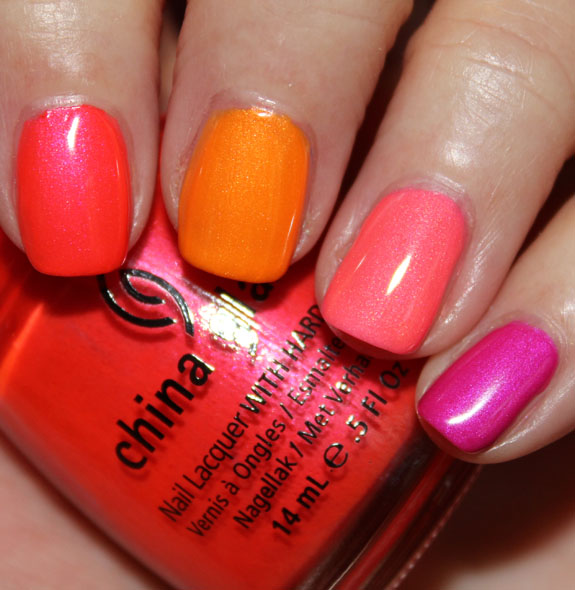 China Glaze Summer Neon Skittles-2 - Vampy Varnish