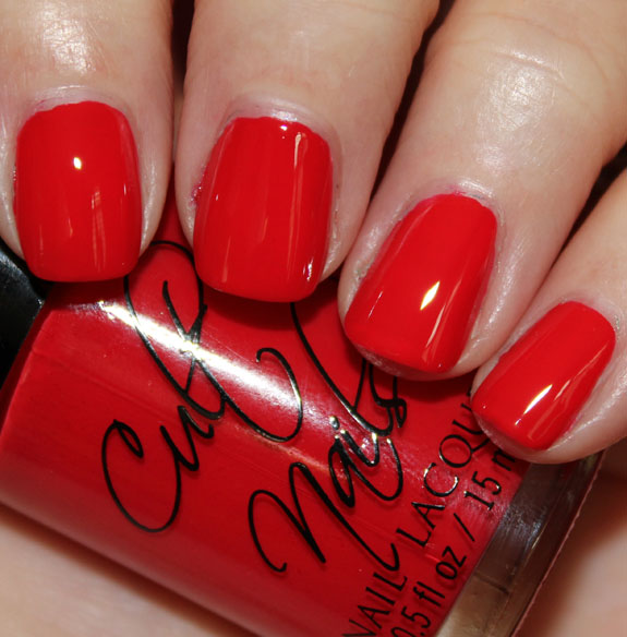 Cult Nails Evil Queen Cult Nails Fairy Tale Collection for Summer 2012 Swatches & Review