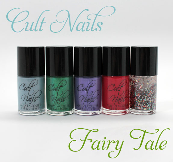 Cult Nails Fairy Tale Cult Nails Fairy Tale Collection for Summer 2012 Swatches & Review