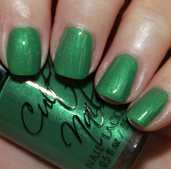 Cult Nails Feelin Froggy Cult Nails Fairy Tale Collection for Summer 2012 Swatches & Review