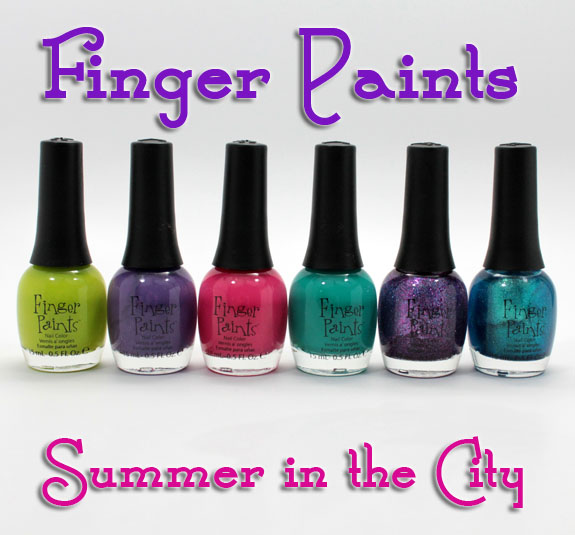 Finger Paints Summer In The City for Summer 2012 Swatches & Review ...