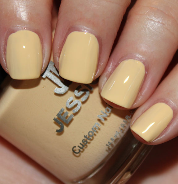 Jessica Banana Peel Jessica Gelato Mio Collection for Summer 2012 Swatches & Review
