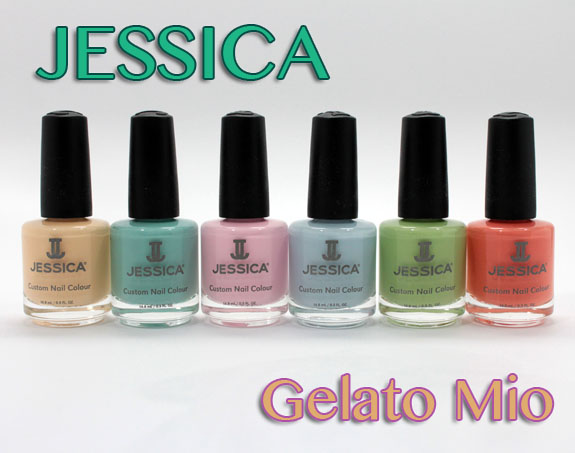 Jessica Gelato Mio Jessica Gelato Mio Collection for Summer 2012 Swatches & Review