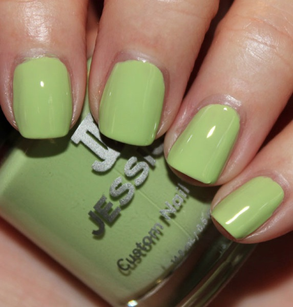 Jessica Lime Cooler Jessica Gelato Mio Collection for Summer 2012 Swatches & Review