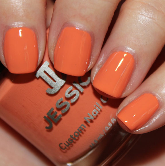 Jessica Tangerine Dreamz Jessica Gelato Mio Collection for Summer 2012 Swatches & Review