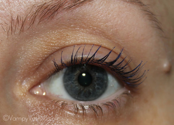 Lashes After Curl with Mascara