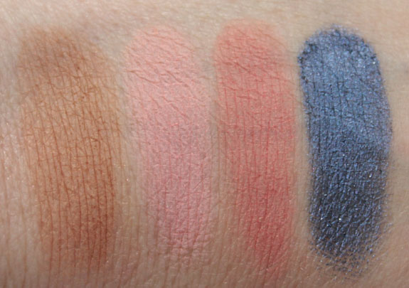 MAC Hey Sailor Swatches