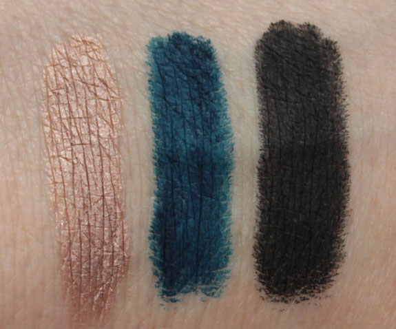 Make Up For Ever Aqua Shadow Waterproof Eye Shadow Pencil Swatches