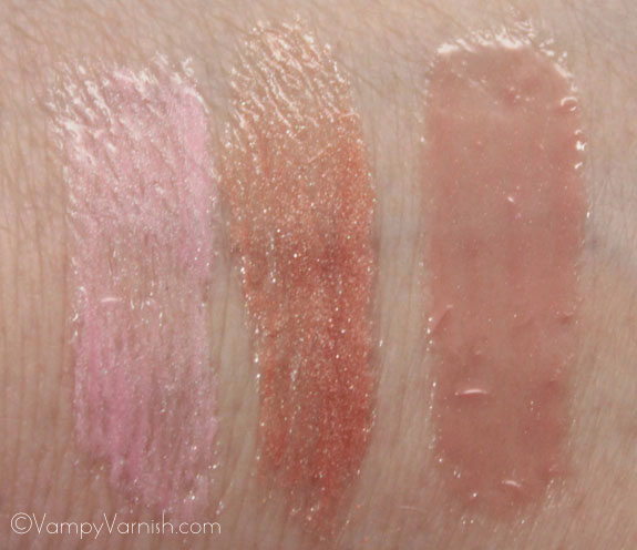 Milani Crystal Gloss For Lips Swatches