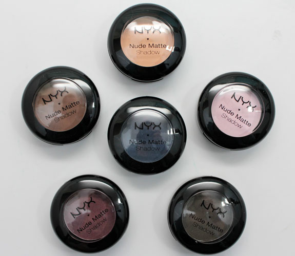 NYX Nude Matte Shadows 2 NYX Nude Matte Shadows for Summer 2012 Swatches, Photos & Review