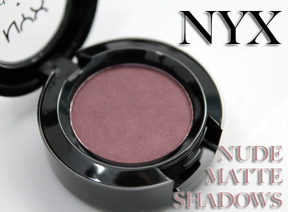NYX Nude Matte Shadows