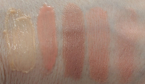 Napoleon Perdis Nude Bar Swatches