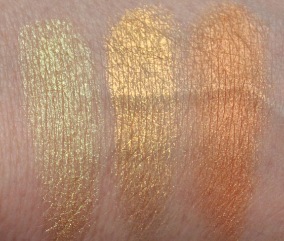 Obsessive Complusive Cosmetics The Garden Loose Colour Swatches