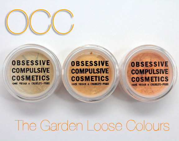 Obsessive Complusive Cosmetics The Garden Loose Colours