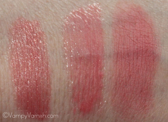Tarte Gifts From The Lipstick Tree Swatches