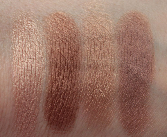 LORAC Wild For TANtalizer Eye Shadow Palette Swatches