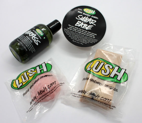 LUSH Strawberry Picnic 2