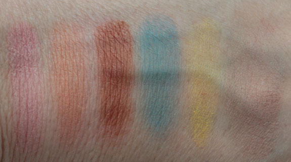 MAC Beth Ditto Powder To The People Swatches