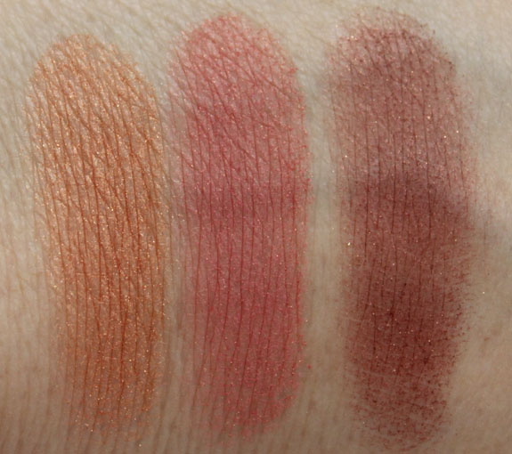 MAC Heavenly Creature Center Of The Universe Supernova Stratus Swatches