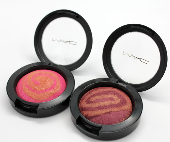 MAC Heavenly Creature Stratus and Supernova Mineralize Blush