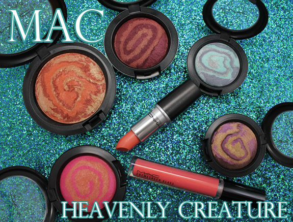 MAC Heavenly Creature MAC Heavenly Creature Collection Swatches, Photos & Review