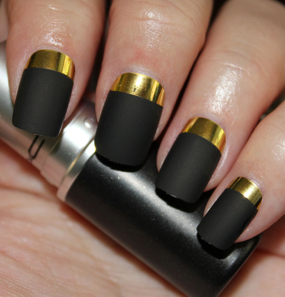 MAC Ruffian Gold Nails