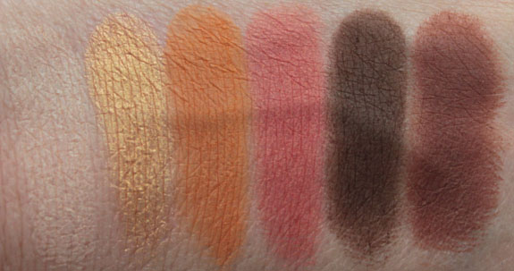 Makeup Geek Eyeshadow Swatches 1