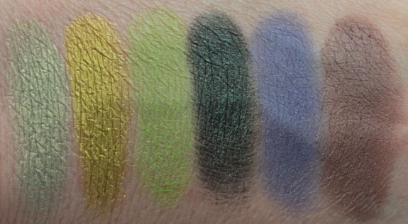 Makeup Geek Eyeshadow Swatches 2