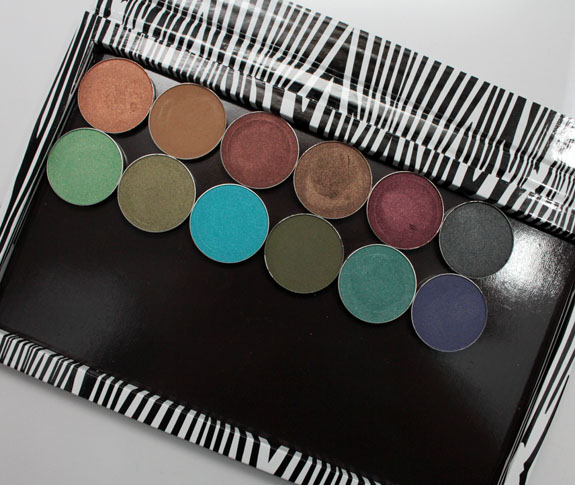Makeup Geek and Z Palette 4