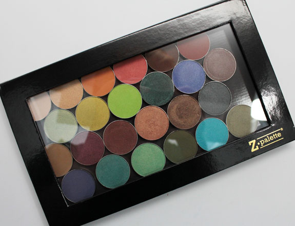 Makeup Geek and Z Palette 5