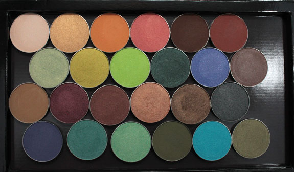 Makeup Geek and Z Palette 6