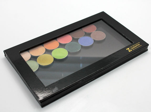 Makeup Geek and Z Palette