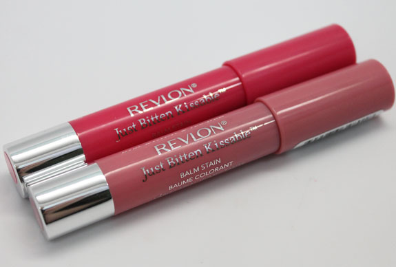 Revlon Just Bitten Kissable Balm Stain 2 Revlon Just Bitten Kissable Balm Stain in Honey & Sweetheart Swatches & Review