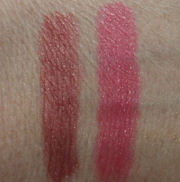 Revlon Just Bitten Kissable Balm Stain Swatches Revlon Just Bitten Kissable Balm Stain in Honey & Sweetheart Swatches & Review