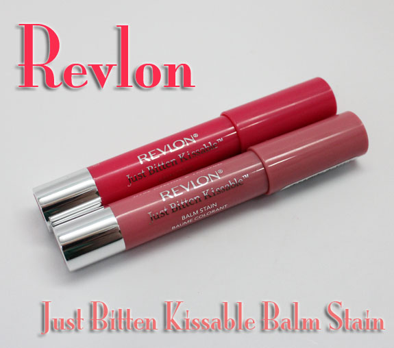 Revlon Just Bitten Kissable Balm Stain Revlon Just Bitten Kissable Balm Stain in Honey & Sweetheart Swatches & Review