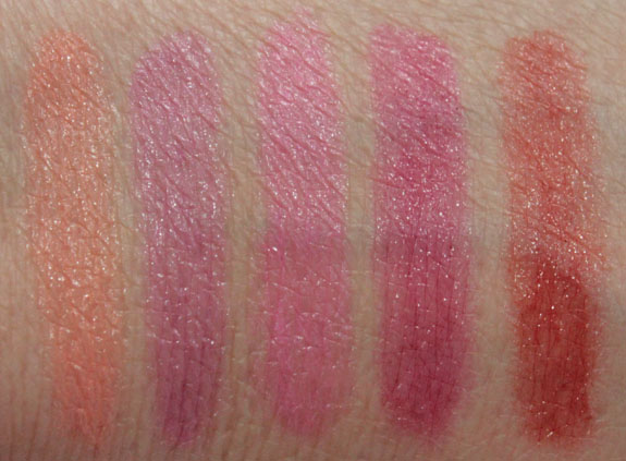 Revlon Just Bitten Kissable Swatches