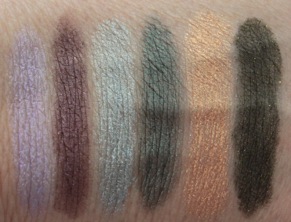 Revlon Smoky Shadow Stick Swatches