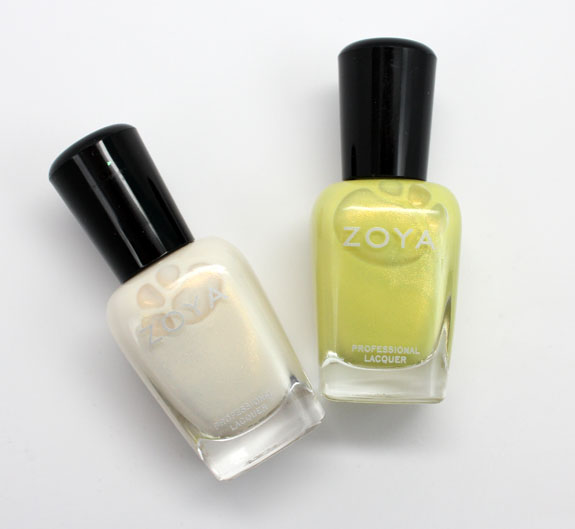 Zoya Gaia and Bekka Zoya Gaia and Bekka Nail Lacquer Swatches & Review
